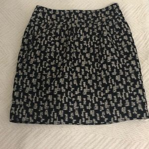 Black and Gold Skirt by Ann Taylor — size 6
